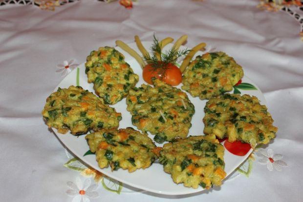 Placuszki warzywne
