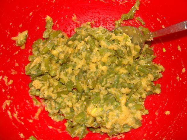 Placuszki z fasolką szparagową
