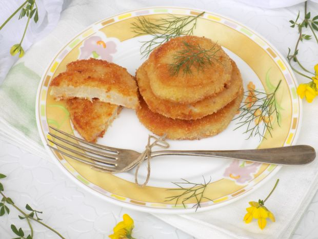 Placuszki z gotowanej kalarepki