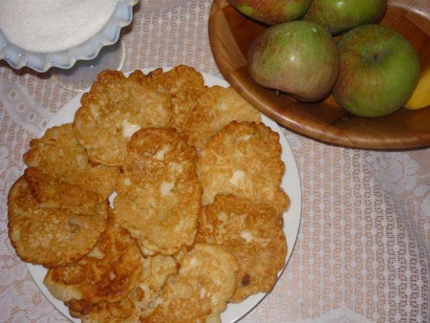 placuszki z jabłkami