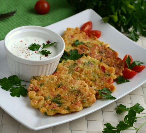 Placuszki z kukurydzą Gordona Ramsaya (mod kołczu) - Zapraszam na pyszny obiad, życzę smacznego :)
