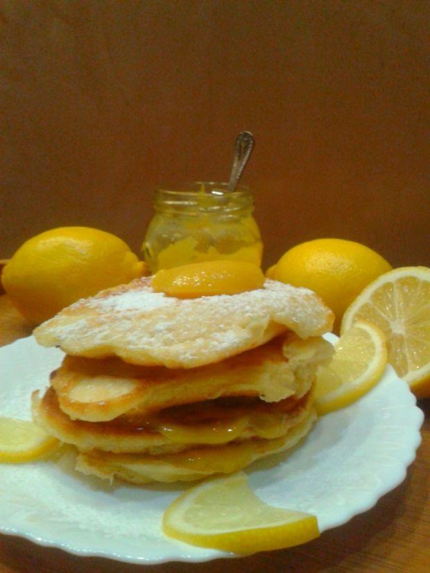 Placuszki z serka mascarpone z lemon curd