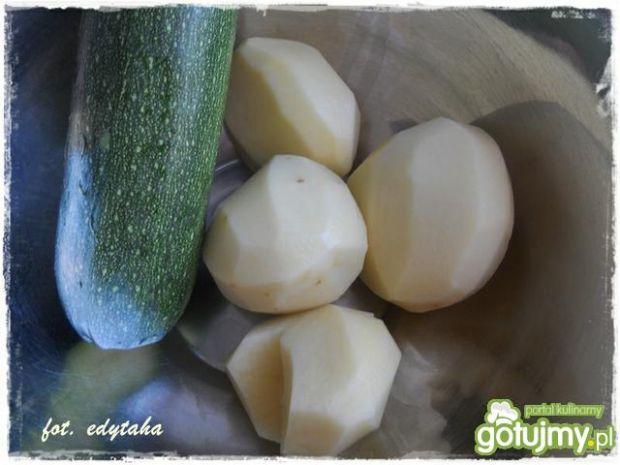 Placuszki ziemniaczano cukiniowe