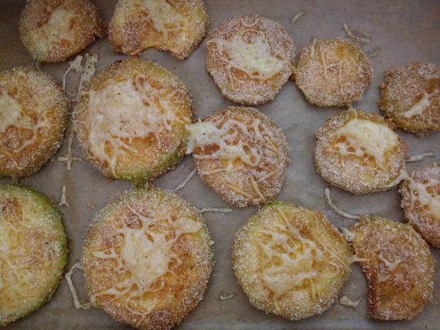 Plastry cukinii zapiekane w piekarniku