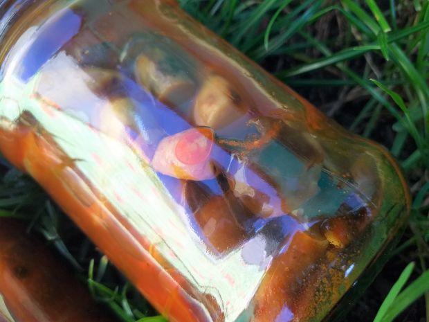 Podgrzybki w marynacie na słodko-pikantnie