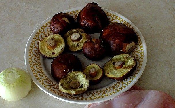 Podgrzybkowy sos do ziemniaków