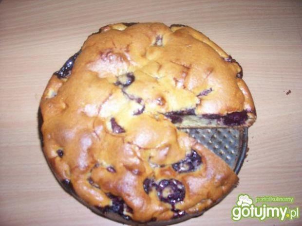 podstawowe ciasto z czereśniami