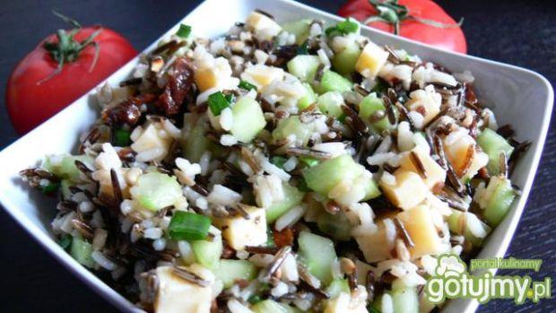 Podwójnie ryżowa sałatka