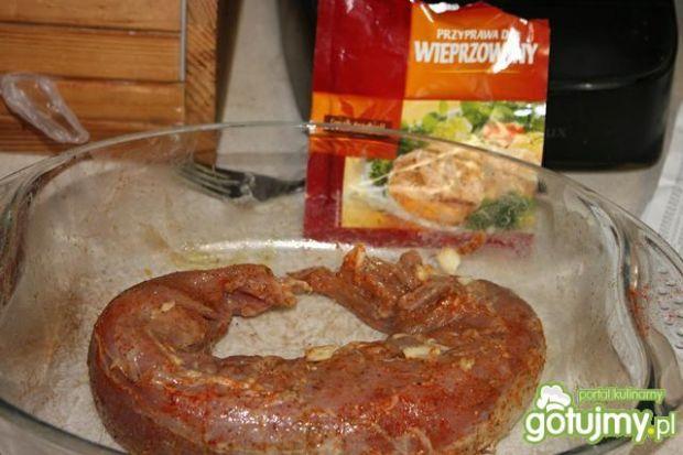 Polędwiczka w sosie kurkowym