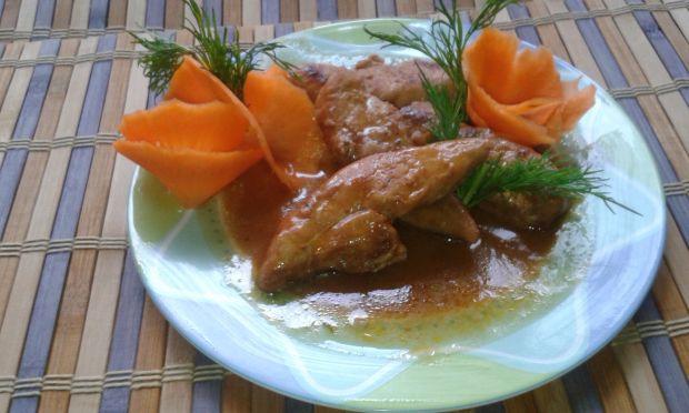 Polędwiczki z kurczaka marynowane i pieczone