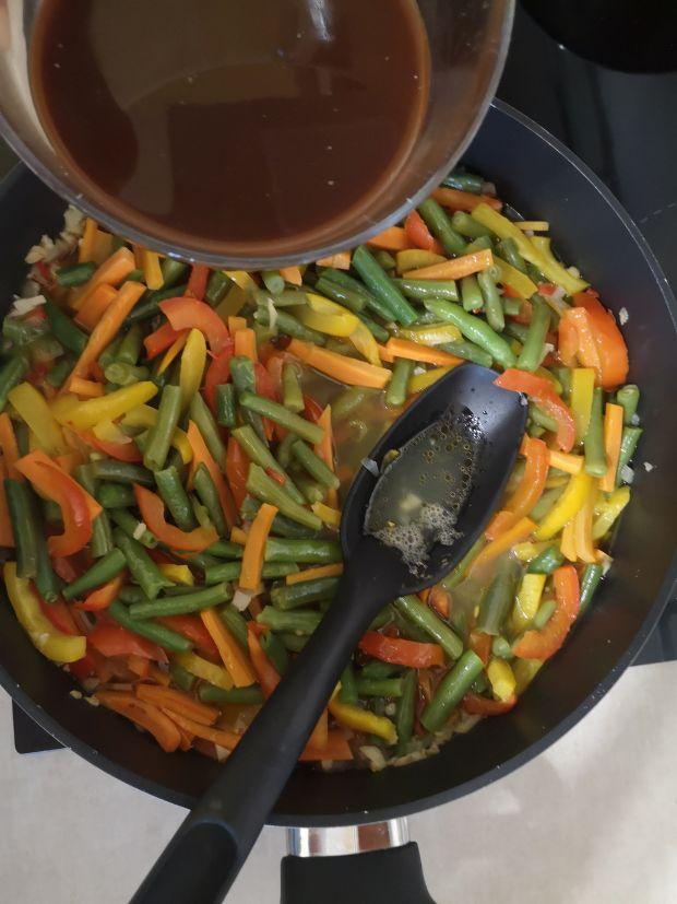 Polędwiczki z warzywami
