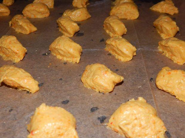 Półkruche ciasteczka dyniowe