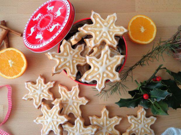 Pomarańczowe ciasteczka