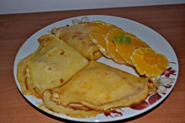 Pomarańczowe naleśniki Suzette