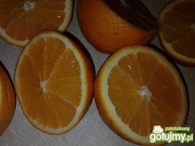 Pomarańczowe smoothie