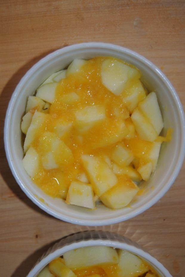 Pomarańczowo-jabłkowe crumble