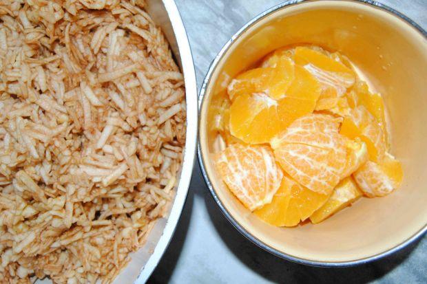 Pomarańczowo- orzechowy miodownik
