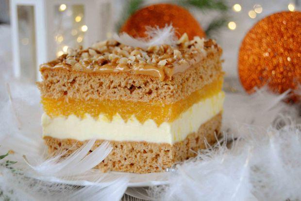 Pomarańczowy miodownik