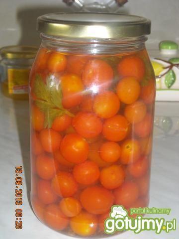 Pomidorki koktaikowe w zalewie octowej