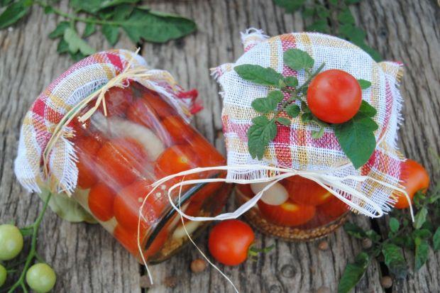Pomidorki koktajlowe na zimę
