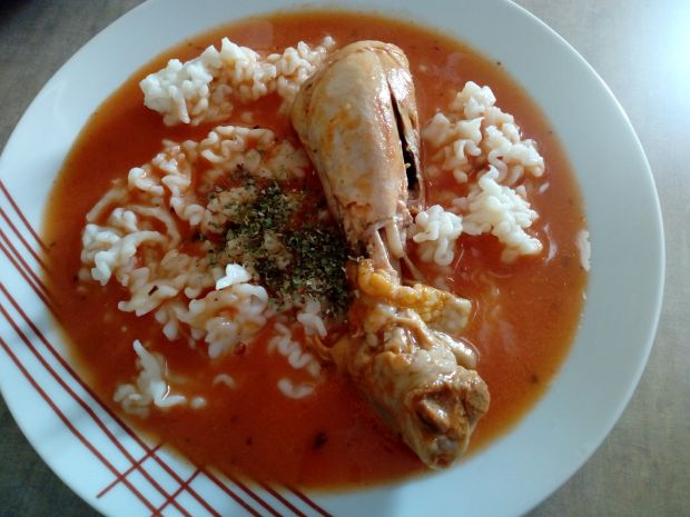 Pomidorowa majerankowa