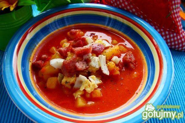 Pomidorowa na bogato
