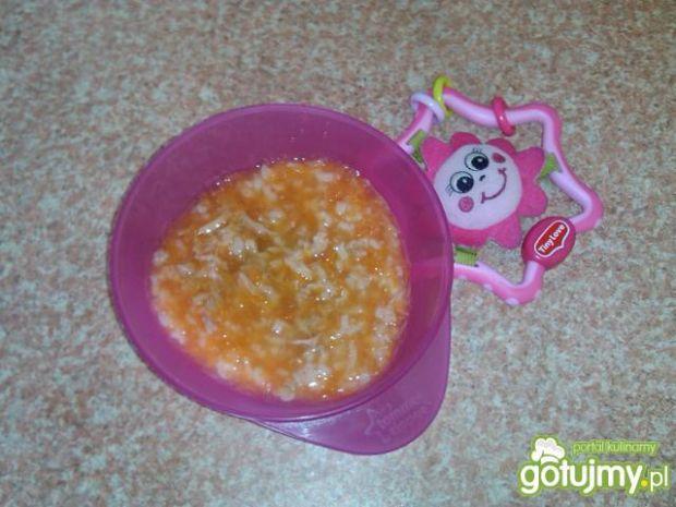 Pomidorowa na cielęcince dla niemowlaka