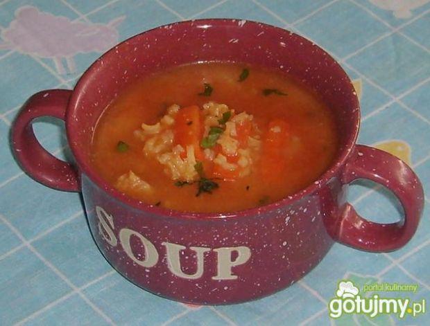 Pomidorowa ryżówka