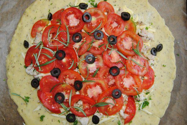 Pomidorowa tarta rustykalna