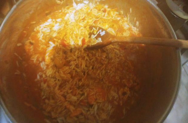 Pomidorowe curry z krewetkami