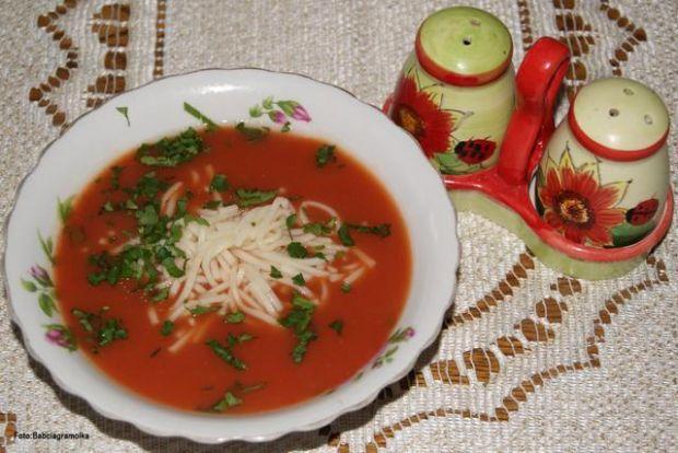 Pomidorówka z zagęszczonego soku :
