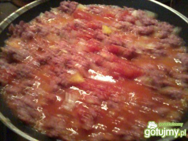 Pomidorowo- mięsne zapiekane paszteciki