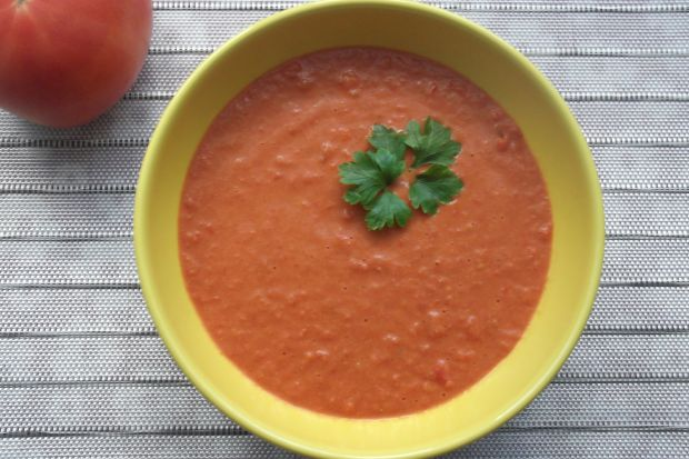 Pomidorowo-paprykowa zupa krem