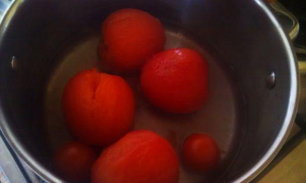 Pomidorowy przecier na zupę