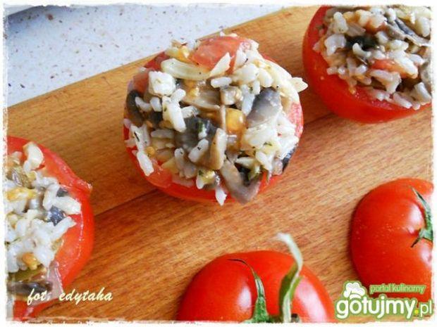 Pomidory faszerowane bezmięsne