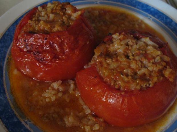 Pomidory  nadziewane miesem