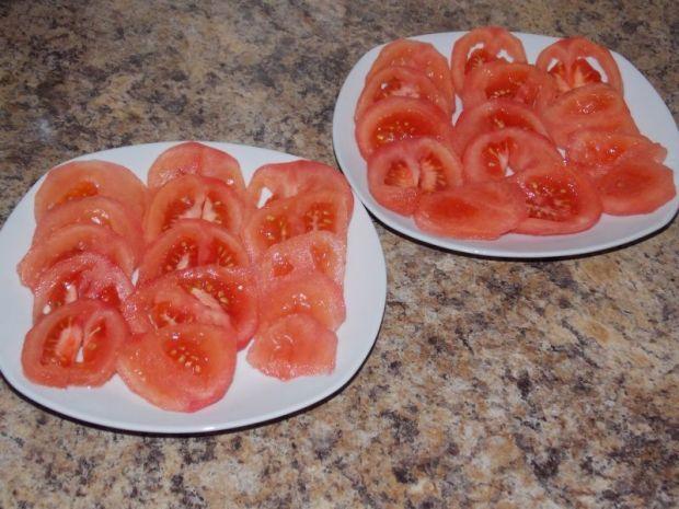 Pomidory pod serową pierzynką