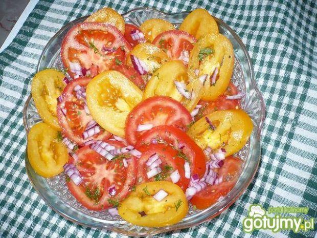 Pomidory z dodatkiem