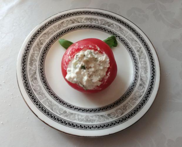 Pomidory z farszem z twarożku