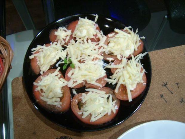 Pomidory z serem i czosnkiem