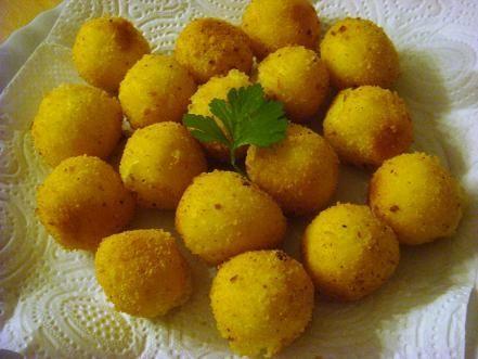 Pommes dauphine czyli ziemniaczane kuleczki