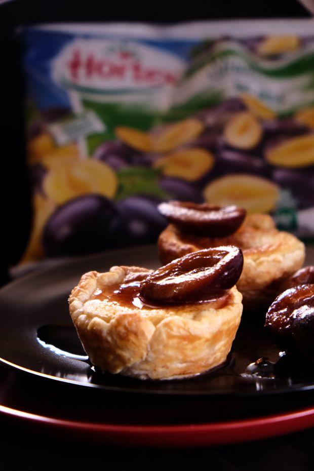 Portugalskie tartaletki ze śliwkami