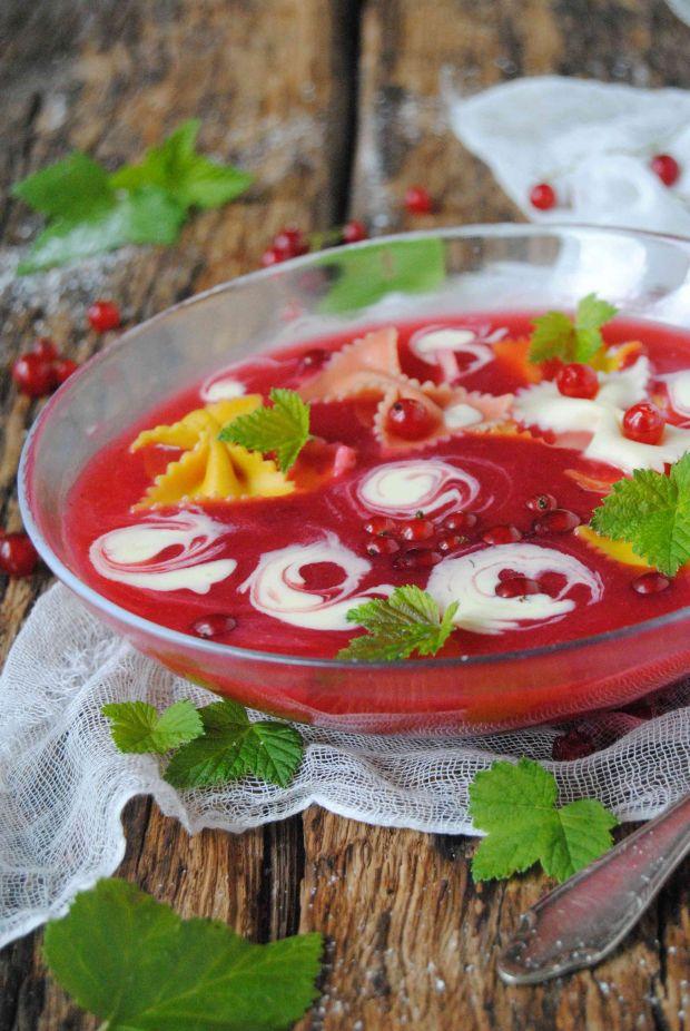 Porzeczkowa zupa