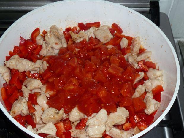 Potrawka meksykańska z kurczaka