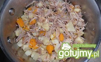 Potrawka rosołowa z ryżem