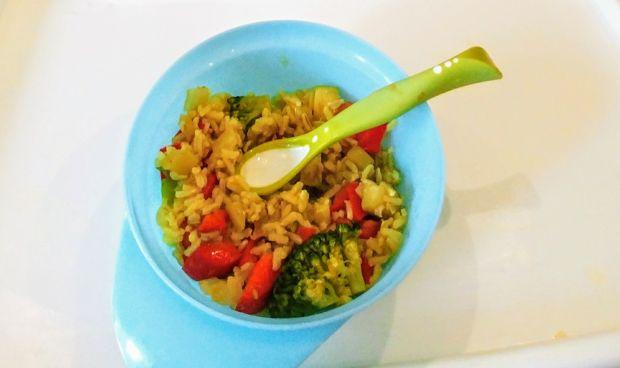 Potrawka ryżowa z warzywami (danie dla maluszka)