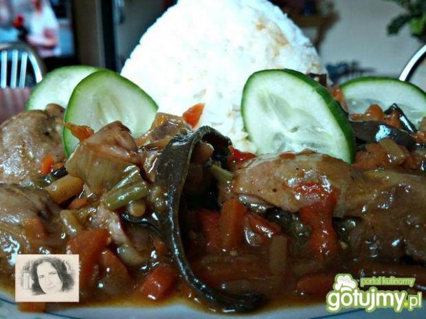 Potrawka z ryżem