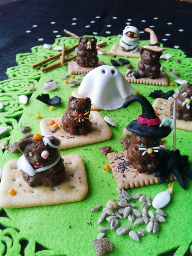 Potworne ciasteczka bez pieczenia