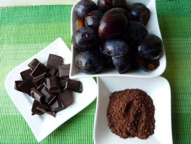Powidła śliwkowe z kakao i czekoladą