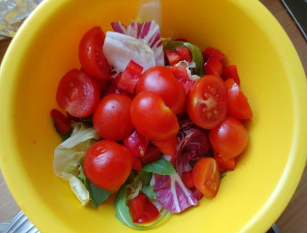 Prosta sałatka warzywna